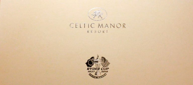 The Celtic Manor Resort Packaging & Branded USB Projects