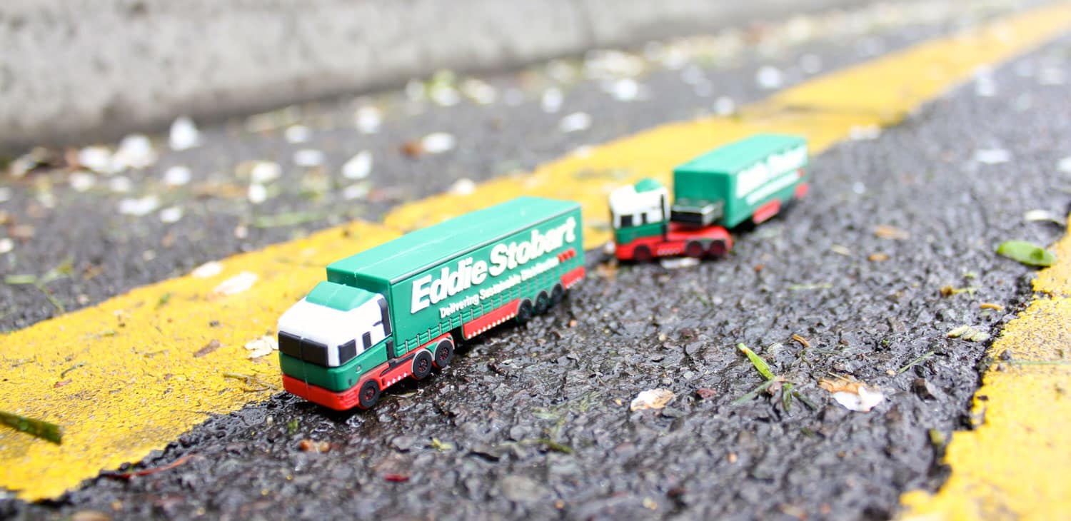 Custom USB Designed For Eddie Stobart