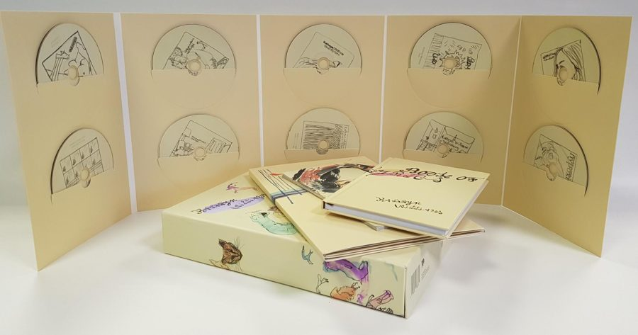 Music CD Packaging Project