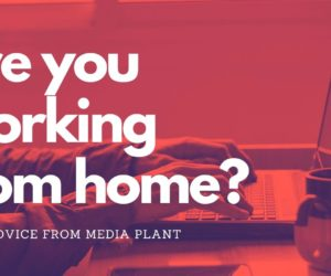 Are you working from home?
